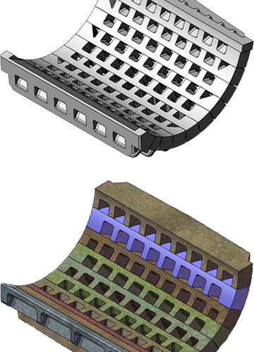 Shredder Grates