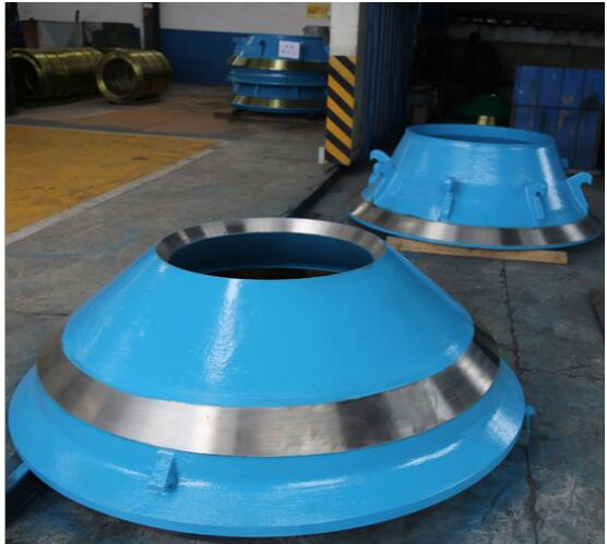 High Manganese Cone Crusher Wear Parts