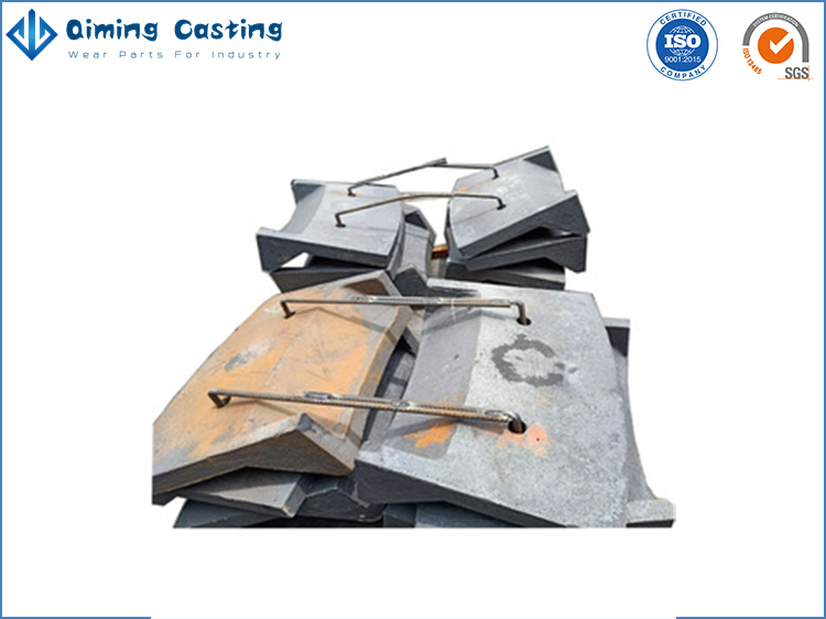 Ball mill liners By Qiming Casting