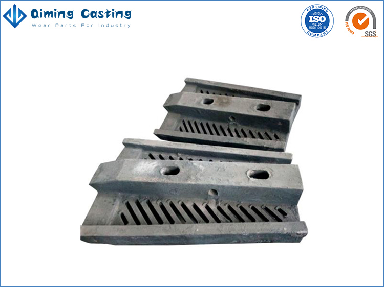 Cr Mo alloy steel mill liners by Qiming Casting