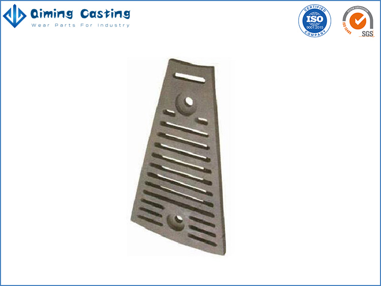 Manganese mill liners by Qiming Casting