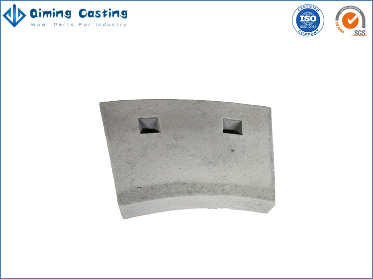 Ni-hard Iron Mill Liners By Qiming Casting
