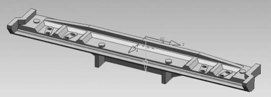 Apron Feeder Parts 3D Model