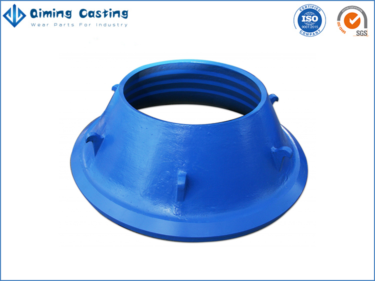Cone Crusher Wear Parts By Qiming Casting