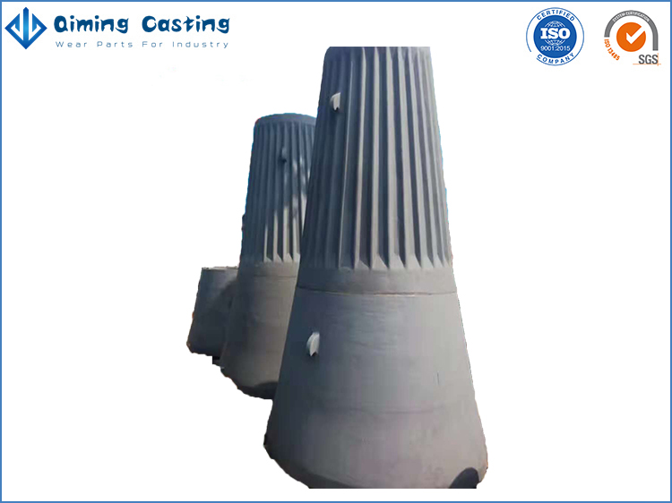 Gyratory Crusher Wear Parts By Qiming Casting