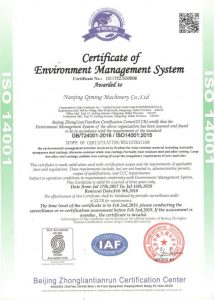 ISO 14001 Quality System